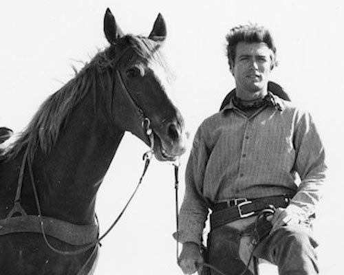 Clint Eastwood wallpaper with a horse trail, a horse wrangler, and a racehorse called ★ Clint as Rowdy Yates ☆