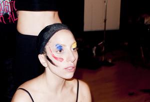 """Gaga makeup test #1"" - (by Terry Richardson)"
