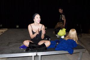 """Gaga rehearsing"" - (by Terry Richardson)"