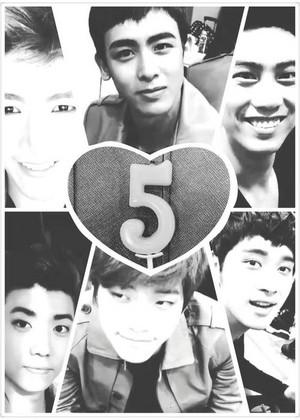 ★ღ♫♡Happy 5th Anniversary, 2PM!♡♫ღ★
