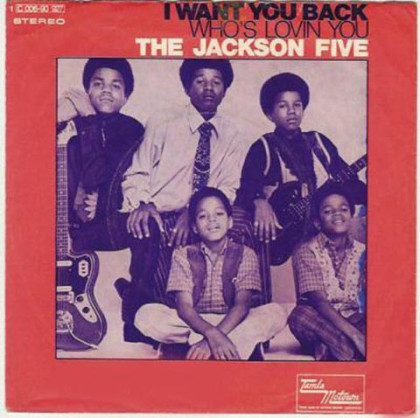 """I Want tu Back"" On 45 RPM"