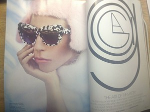 (LQ) Gaga's October 2013 Elle US Spread kwa Ruth Hogben