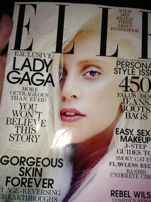 (LQ) Gaga's October 2013 Elle US Spread によって Ruth Hogben