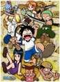 *Mugiwara Kids* - one-piece photo