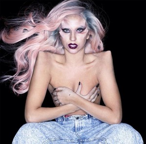 *NEW* Outtake from Born This Way Promotional Photoshoot oleh Nick Knight