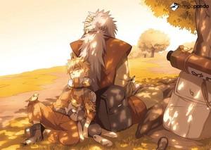 *Naruto & Jiraya*
