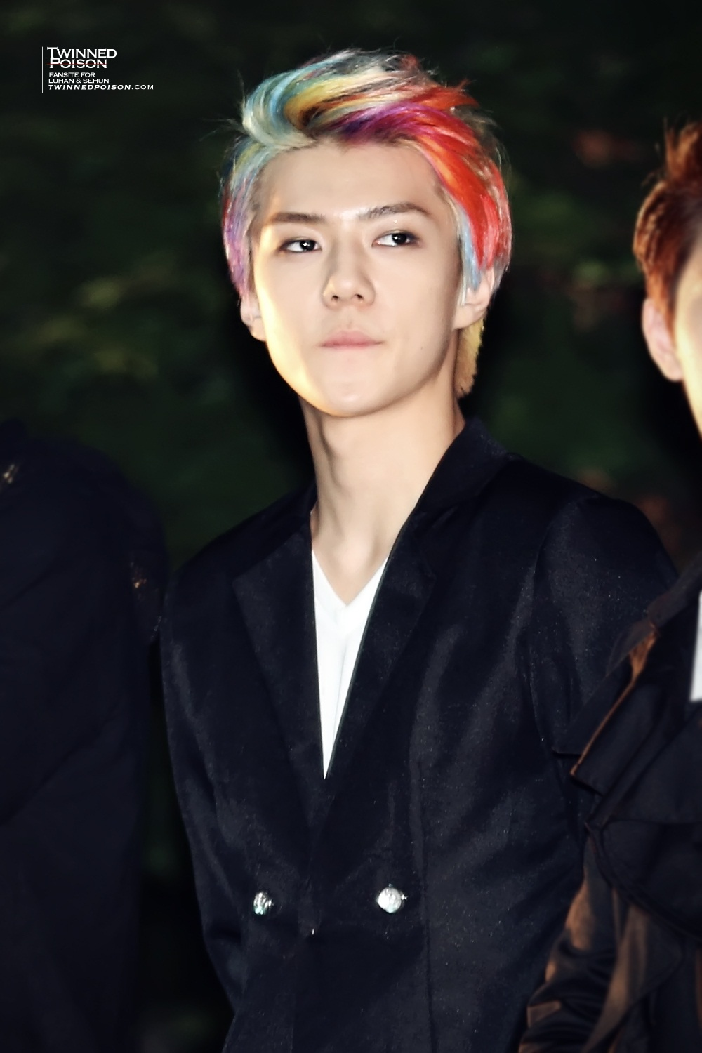 Sehun♥~ - Seh... Rainbow Hair Tumblr