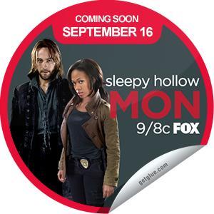 """Sleepy Hollow"" Get Glue sticker"