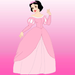 {Snow White} with Ariel's Dress ~ - snow-white-and-the-seven-dwarfs icon