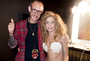 """Terry and GaGa #2"" - (by Terry Richardson)"