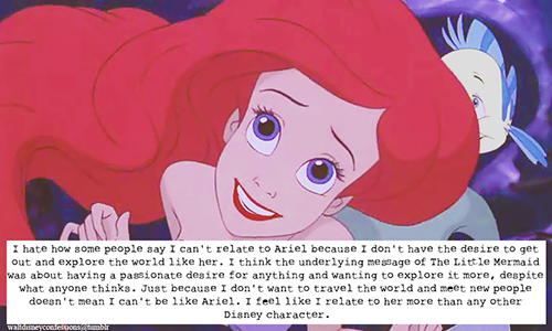 Disney Princess Achtergrond With Anime Called The Little Mermaid Tumblr Confession