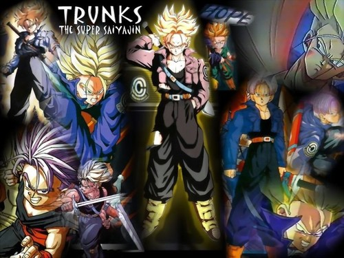 Trunks wallpaper containing a stained glass window and anime titled *Trunks*