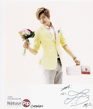 130902 INFINITE Dongwoo – Natuur Pop Postcards