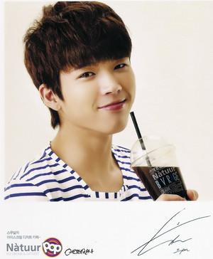 130902 INFINITE Woohyun – Natuur Pop Postcards