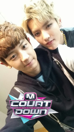 130905 MNET M!Countdown's Twitter Update with exo