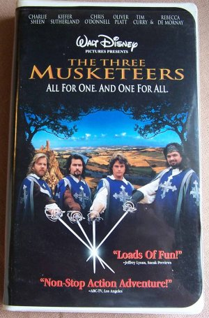 movie review of disneys the three musketeers In disney's version of the three musketeers was not very accurate in a historical sense, but did have some historical background the king that the musketeers defended, king louis the xiii of france was indeed a real king.