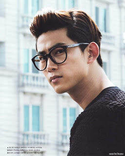 2pm fond d'écran possibly with a rue and a portrait called 2PM's Nichkhun & Taecyeon Are Men In Black!