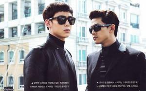 2PM's Nichkhun & Taecyeon Are Men In Black!