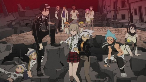 "soul eater wallpaper possibly containing a músico de banda, bandasman, bandsman titled 4th Closing Theme - ""Strength"""