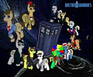 50 Years of Doctor Whooves