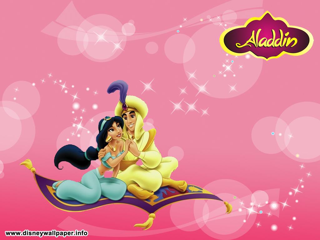 Pin Aladdin And Jasmine Wallpaper On Pinterest