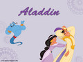 Aladdin And Jasmine - disney-princess wallpaper