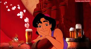 Aladdin birra Drunk Abu (@ParisPic)