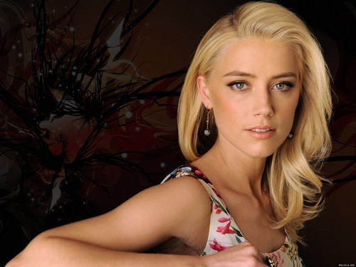 amber heard wallpaper probably with a bikini, attractiveness, and a portrait entitled Amber wallpaper