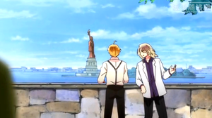 America & France~