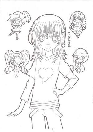 Amu-chan,Ran,Miki,and Su