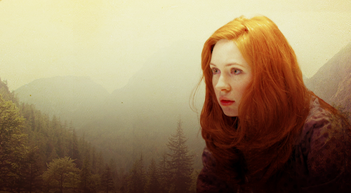 Amy Pond Обои possibly containing a portrait called Amy Fanart :)