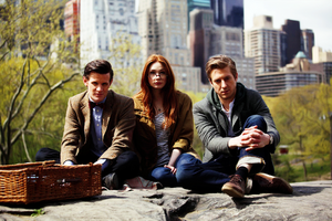 Amy, Rory and Eleven