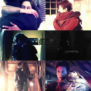 Amy and Rory hugs ♥