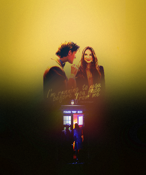Amy and The Doctor Fanart ♥