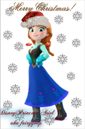 Frozen Images Anna Christmas Wallpaper And Background Photos