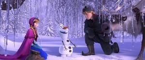 Anna, Kristoff & Olaf