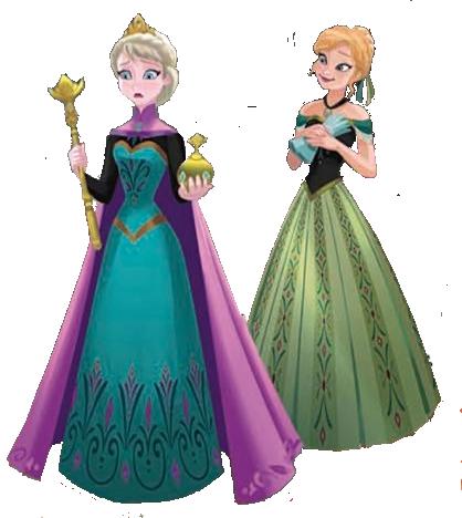 Anna and Elsa