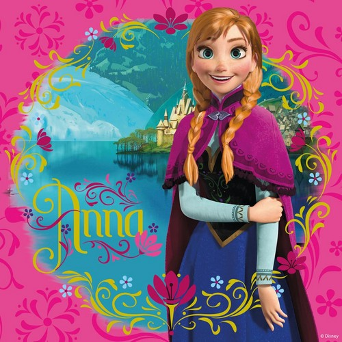 Frozen wallpaper titled Anna