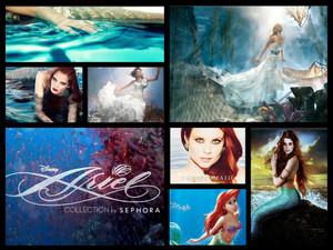 Ariel merchandise/ Bilder collage
