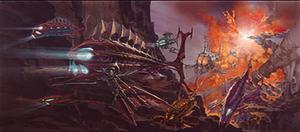 Atlantis The ロスト Empire Concept Art