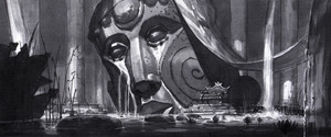 Atlantis The 로스트 Empire Concept Art