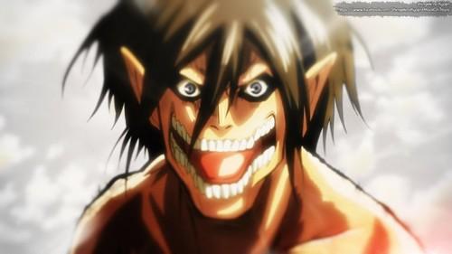 Attack on Titan karatasi la kupamba ukuta probably with anime titled Attack On Titan Screencap