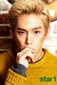 B.A.P's Himchan in Vol. 18 (September 2013) of Star1 Magazine