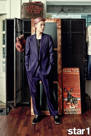 B.A.P's Zelo in Vol. 18 (September 2013) of Star1 Magazine