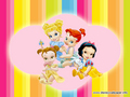 Baby Disney Princesses - disney-princess wallpaper