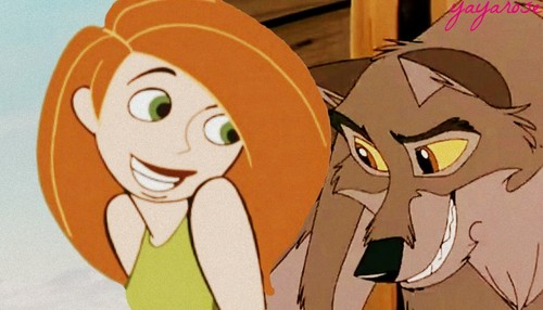 disney crossover fondo de pantalla entitled Balto and Kim Possible