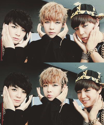 bangtan boys wallpaper entitled Bangtanboys♥*♥*♥