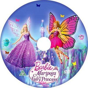 芭比娃娃 Mariposa and the Fairy Princess (Different CD)