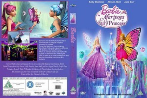 Barbie Mariposa and the Fairy Princess (Different DVD cover)