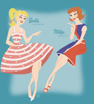 Barbie and Midge